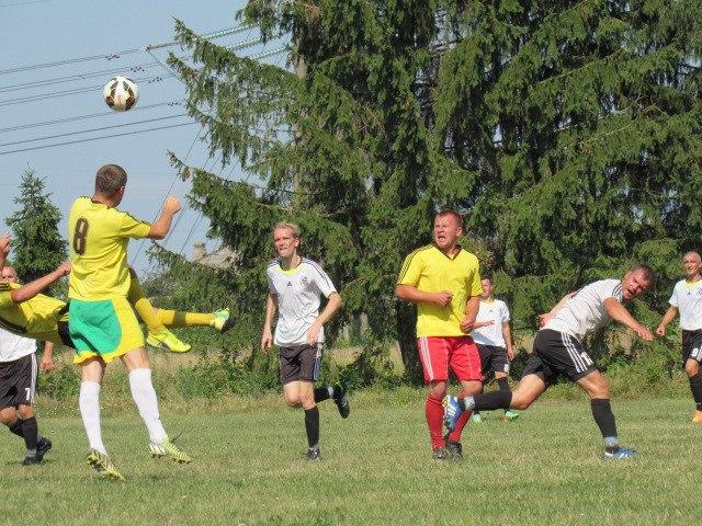 Технічні дані матчів чемпіонату, першості та кубка району за 17 та 21 серпня