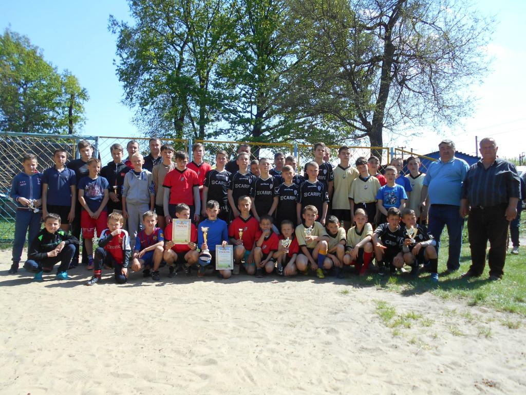 У Квасилові змагалися дитячі футбольні команди