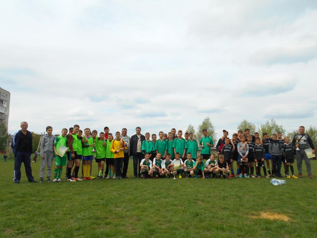 «Квасилівська весна» юні футбольні таланти змагалися на центральному стадіоні
